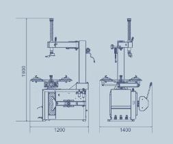 Däckmaskin LC810