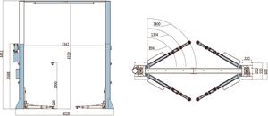 2-pelarlyft 5 ton